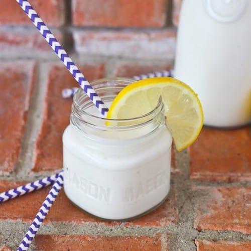 Creamy Lemon Smoothie - On RachelCooks.com