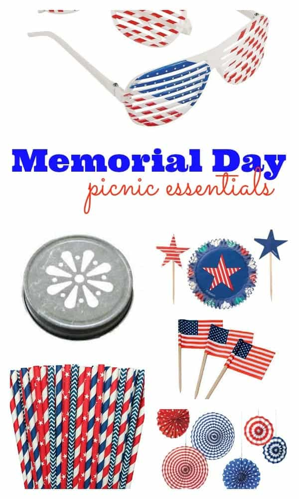 Memorial Day Picnic Essentials   Plan The Perfect Party! Get The Patriotic  Details On RachelCooks