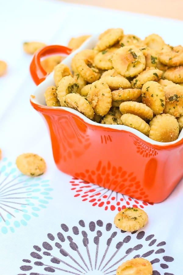Seasoned Oyster Crackers Recipe