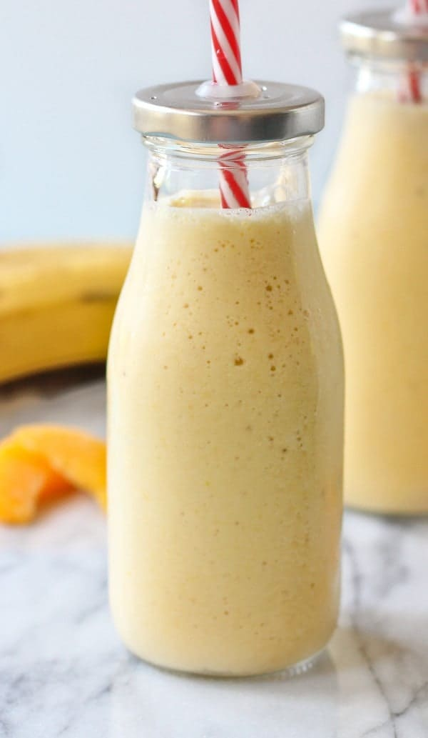 Swell Peach Banana Honey And Cottage Cheese Smoothie Download Free Architecture Designs Aeocymadebymaigaardcom