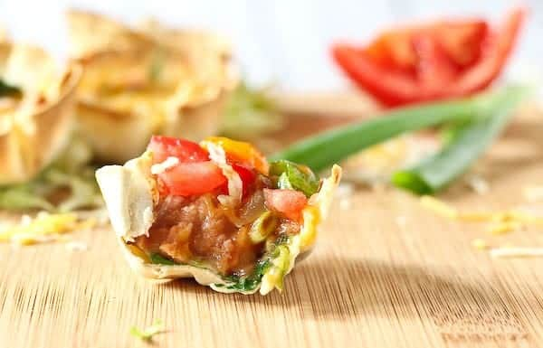 Easy vegetarian taco cups ready in 20 minutes rachel cooks a healthy fun and delicious vegetarian meal in 20 minutes the whole family forumfinder Gallery