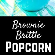"Brownie Brittle popcorn answers the question, ""What's better than crunchy, flavorful Brownie Brittle?"" Get the fun and easy snack or dessert recipe on RachelCooks.com!"