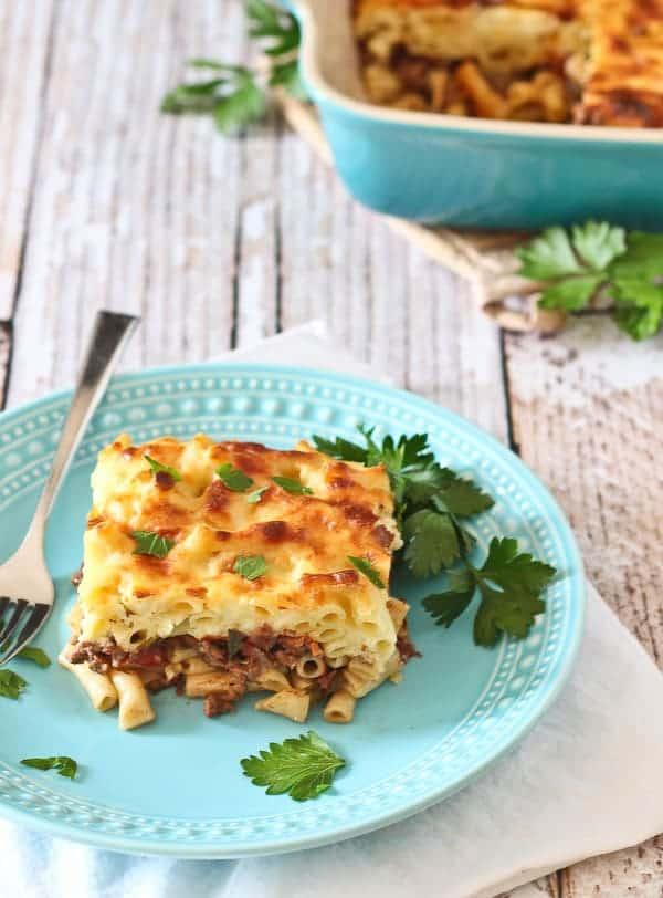Move over, lasagna! This pastitsio is a Greek baked pasta dish and ...