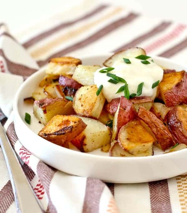 How to make crispy roasted potatoes rachel cooks dont settle for soggy potatoes learn how to make crispy roasted potatoes ccuart Choice Image