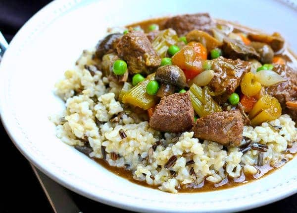 Slow Cooker Marsala Beef Stew