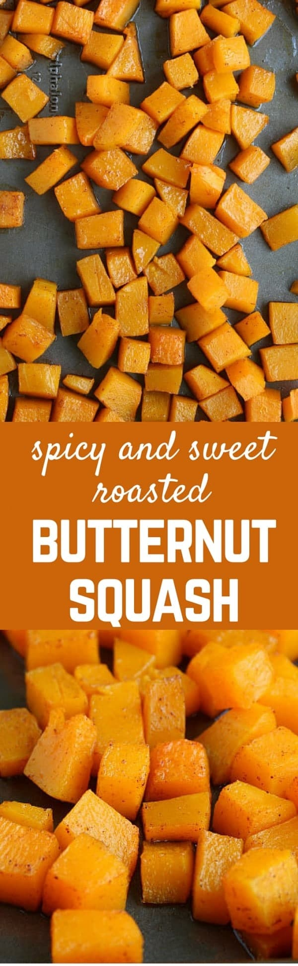 This roasted butternut squash that is both spicy and sweet is 100% perfect! It's an easy and healthy side dish that the whole family will love.Get the recipe on RachelCooks.com!