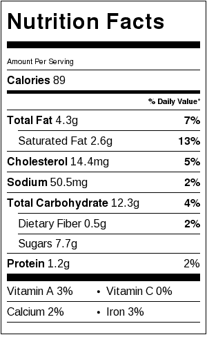 malted chocolate chip cookie nutrition