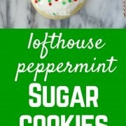 These soft sugar cookies are just like the Lofthouse cookies you find in your grocery store except with a fun peppermint twist for the holiday season. Get the recipe on RachelCooks.com!
