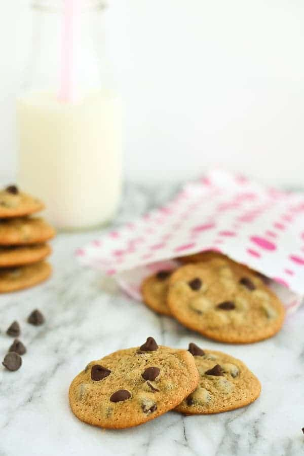 Malted Chocolate Chip Cookies - Rachel Cooks®