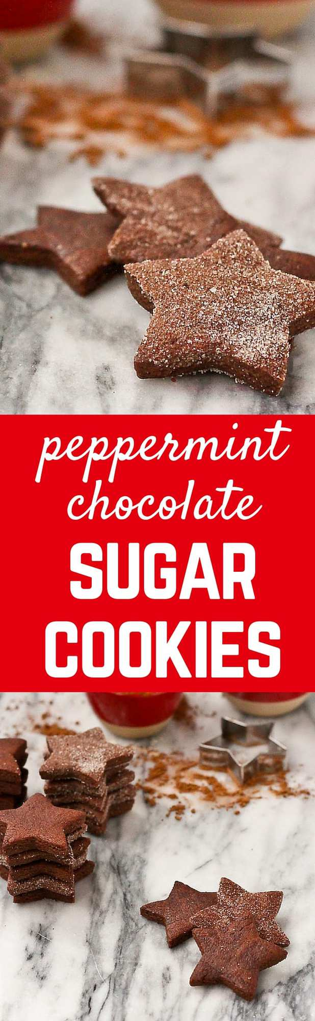 Peppermint Chocolate Sugar Cookies - Rachel Cooks®