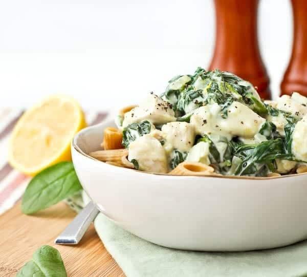 Chicken spinach cream recipe