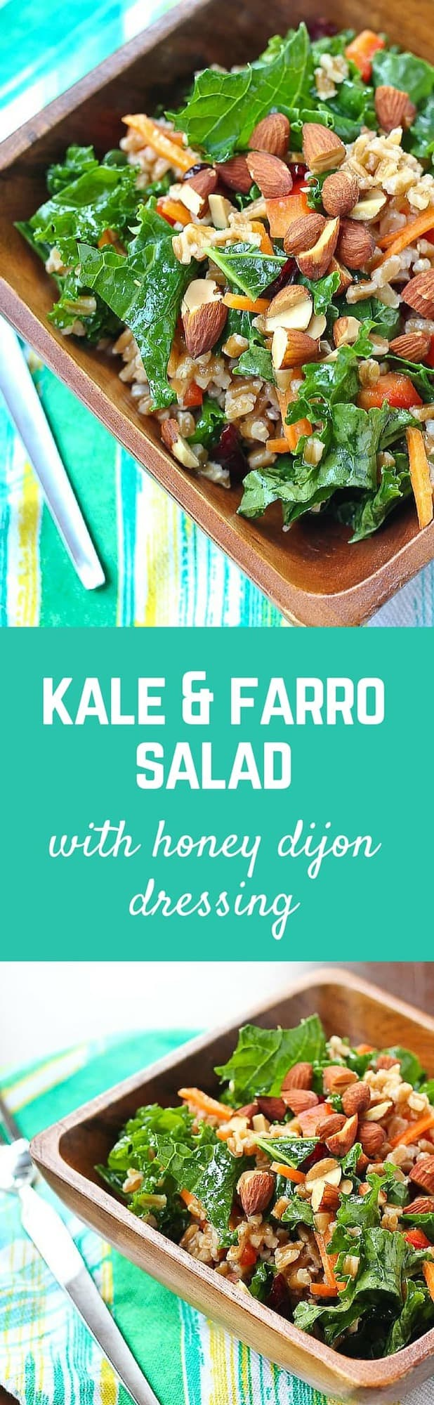 This kale salad keeps really well in your fridge - great for healthy ...