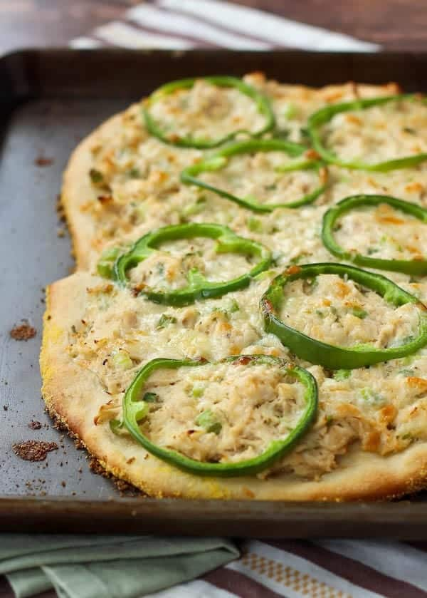 This tuna pizza is reminiscent of the classic tuna salad, but in pizza form. It's a quick recipe that's sure to become a favorite. Get the fun pizza recipe on RachelCooks.com!