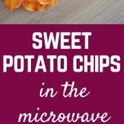 Sweet potatoes can be transformed into a crispy and delicious sweet potato chip in a mere 5 minutes in the microwave! Get the easy method and recipe on RachelCooks.com!