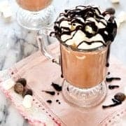 This easy hot chocolate recipe will have you sipping on rich and comforting cocoa in less than 10 minutes. Lactose-free instructions included! Get the recipe on RachelCooks.com!