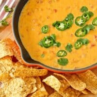 Healthy Queso Dip with Butternut Squash