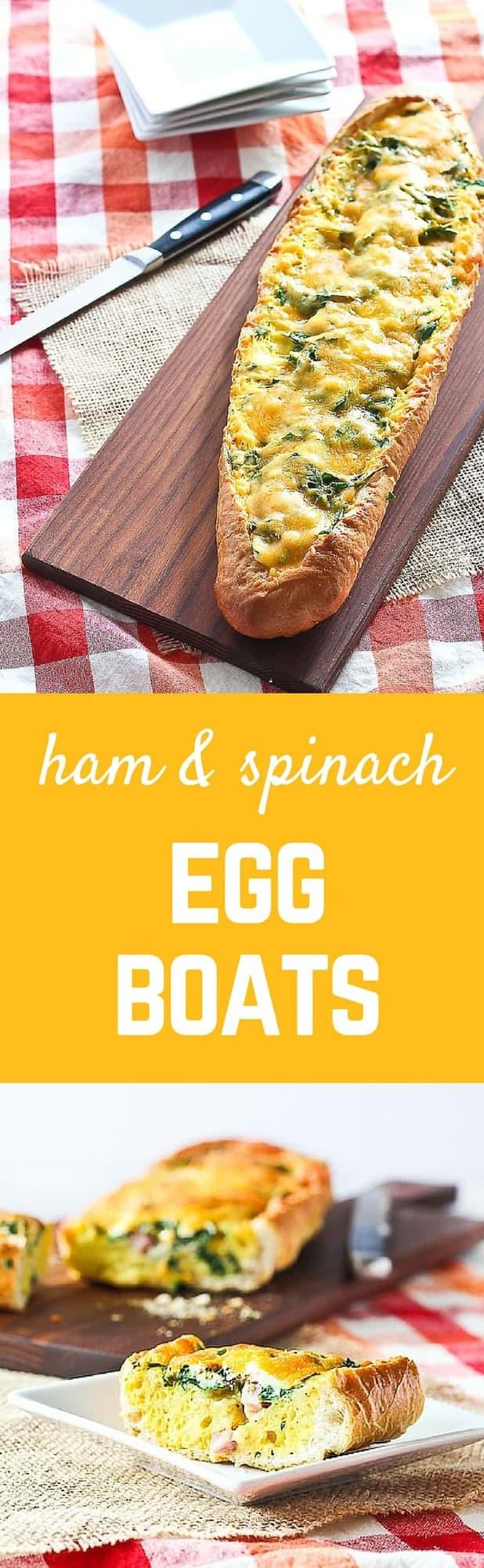 Take your egg casseroles outside the square pan with thisfun egg boat recipe. Crunchy bread holds a flavorful and irresistible egg filling. These will transform brunch! Get the easy recipe on RachelCooks.com!