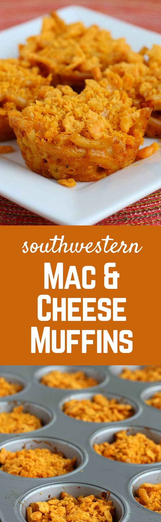 These southwestern mac & cheese muffins will be loved by both your buddies & your toddler. These