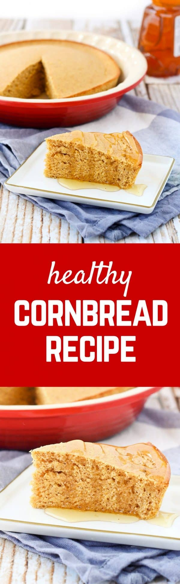 Serve up a slice of cornbread with your chili....without the guilt! This slimmed-down healthy cornbread is just as satisfying as traditional cornbread, and you can feel better about eating it. Get the easy recipe on RachelCooks.com!