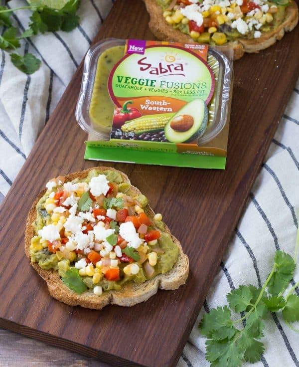 Southwestern Guacamole Toast Recipe - Rachel Cooks