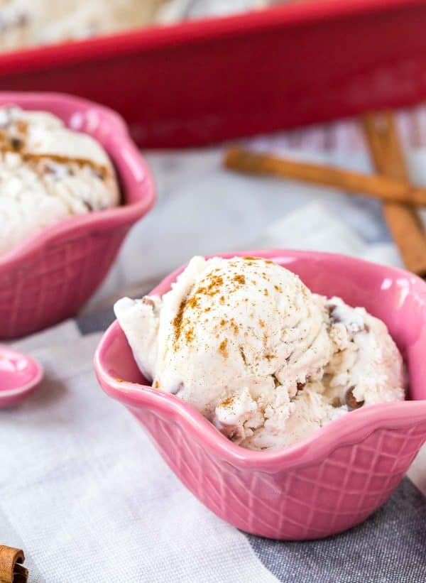 Easy cinnamon ice cream recipes