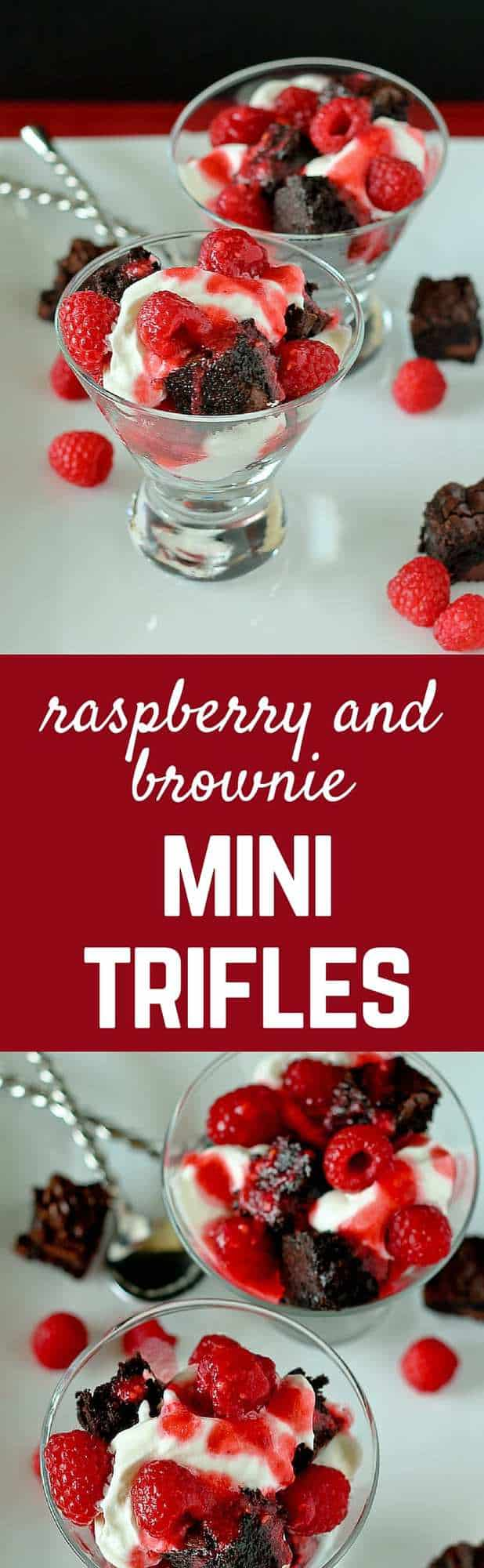 You'll love the sophisticated simplicity of this tasty mini trifle -- the rich chocolate brownies are balanced perfectly by fresh, ripe raspberries and lightly sweetened freshly whipped cream. Find the recipe on RachelCooks.com!