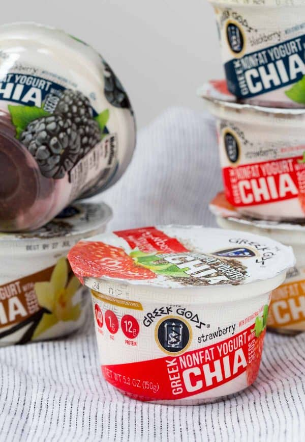 Greek Gods Chia Yogurt