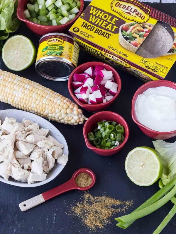 green chile chicken salad ingredients