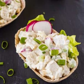 Mix up your routine with a southwestern twist on a classic chicken salad recipe. You can prep it on the weekend - it's quick, easy and incredibly filling. Get the healthy recipe on RachelCooks.com!