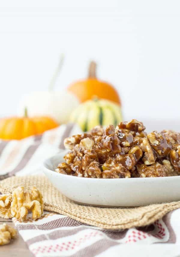 These Pumpkin Spice Candied Walnuts Recipe are the perfect addition to ...