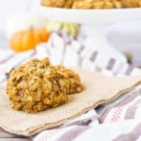 Pumpkin Breakfast Cookies with Muesli