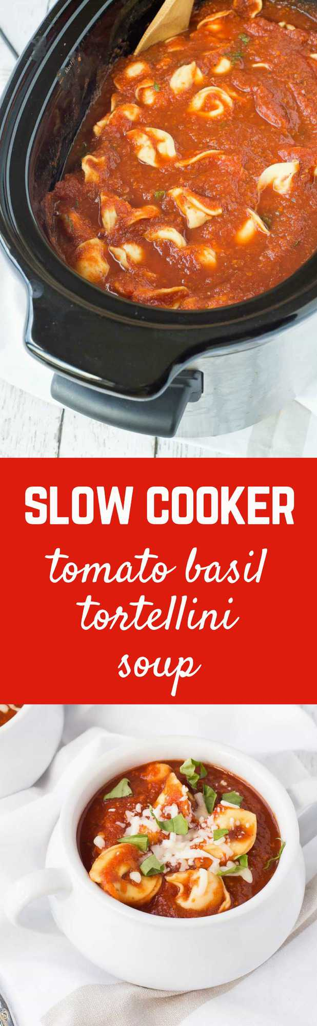 describe this simple and easy to make slow cooker tomato basil soup ...
