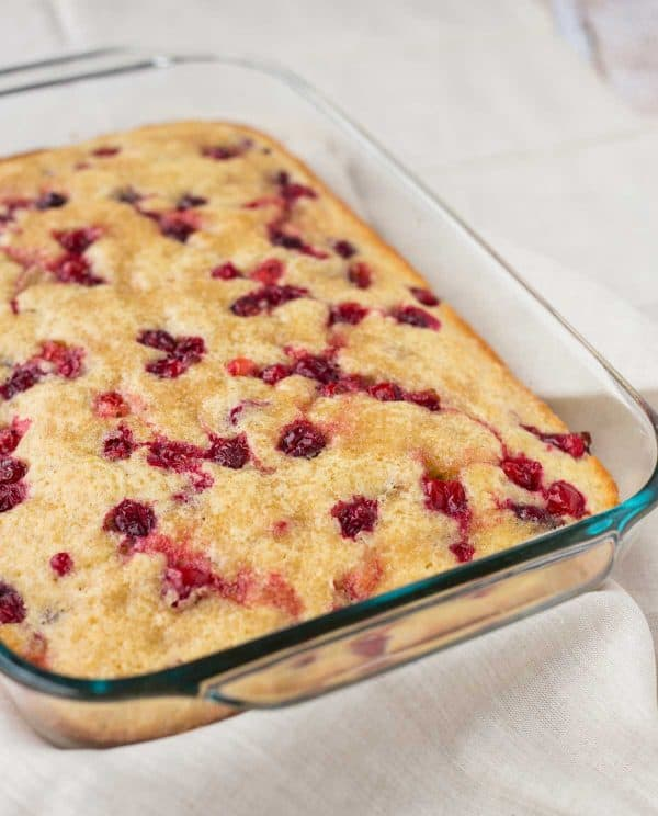 Recipte For Cranberry Coffee Cake