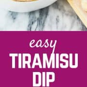 With all the great taste of tiramisu, but in an easy, fun, dip-able format, this tiramisu dip is going to become an instant party favorite! Get the easy dessert recipe on RachelCooks.com!