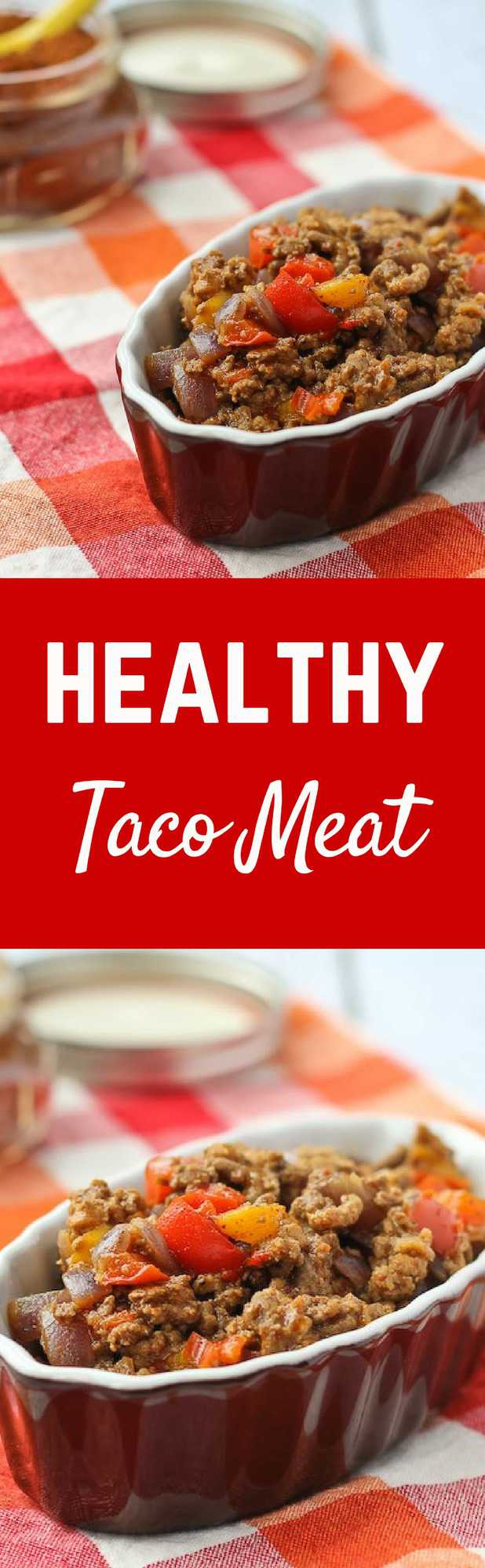 This healthy taco meat is something I could make with my eyes closed. Some vegetable additions make this budget AND waist-friendly! Get the recipe on RachelCooks.com!