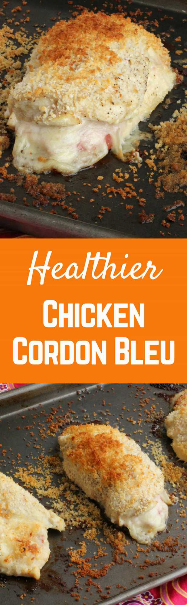 Healthier chicken cordon bleu recipe rachel cooks this healthier chicken cordon bleu tastes just as great as the fried version maybe forumfinder Gallery