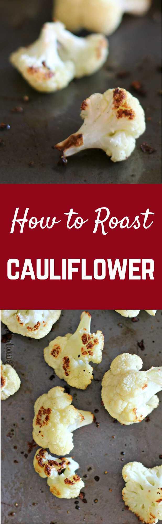 How to Roast Cauliflower   RachelCooks.com