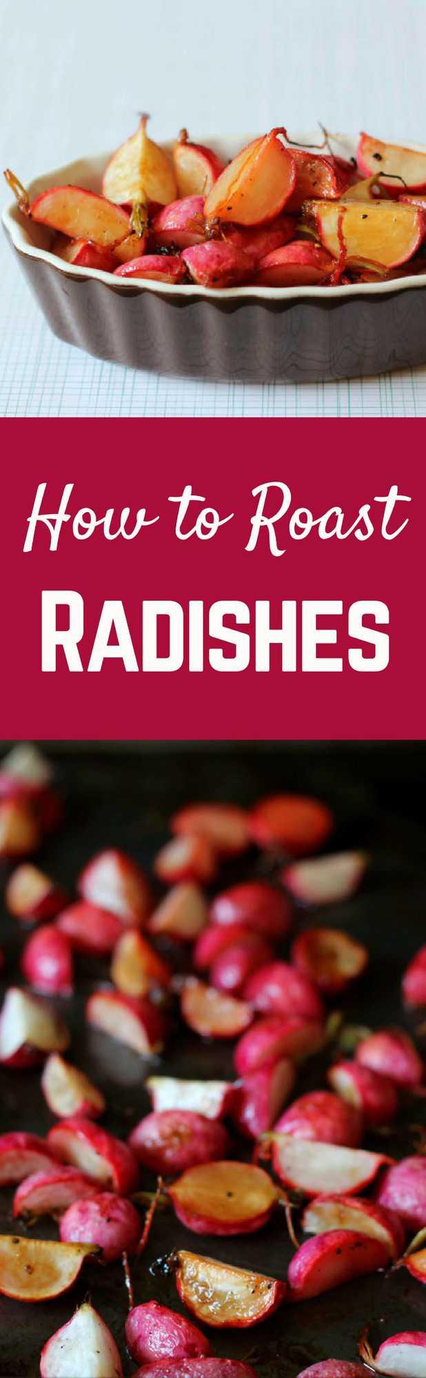 How to Roast Radishes on RachelCooks.com