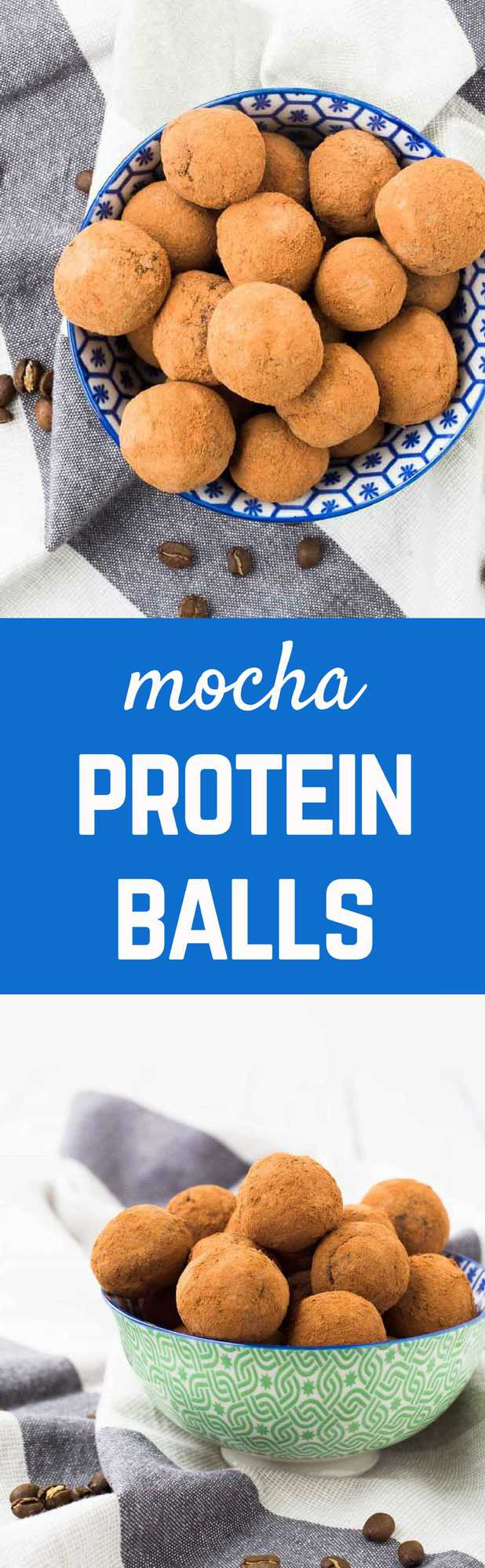 These chocolate protein balls will satisfy your chocolate cravings without a sugar crash later and will give you energy to get through your afternoon! Get the easy snack recipe on RachelCooks.com!