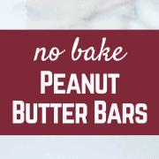No Bake Peanut Butter Bars {taste just like Reese's!}   RachelCooks.com