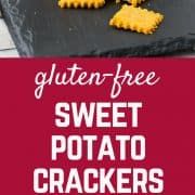 Crackers are so easy to make at home! You will love the sweet and savory flavor of this gluten-free cracker recipe, and it's great for kids too! You can even have them help roll out the crackers. Get the gluten-free snack recipe on RachelCooks.com!