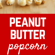 This Peanut Butter Popcorn is perfect for the peanut lover in your life. The great blend of salty and sweet all in one fantastic popcorn snack. Get the recipe on RachelCooks.com!