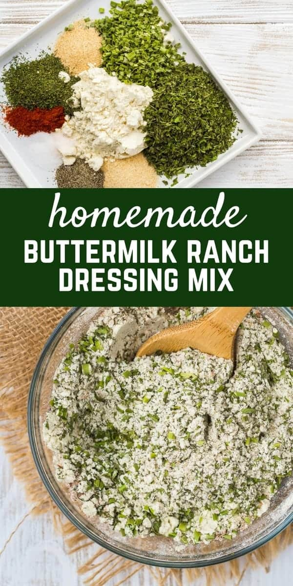 Ditch the packet! Homemade Ranch Seasoning Mix is so easy to make at home and great to have on hand for when you get that ranch craving! It's versatile and so much better for you! Get the DIY Seasoning Mix on RachelCooks.com!