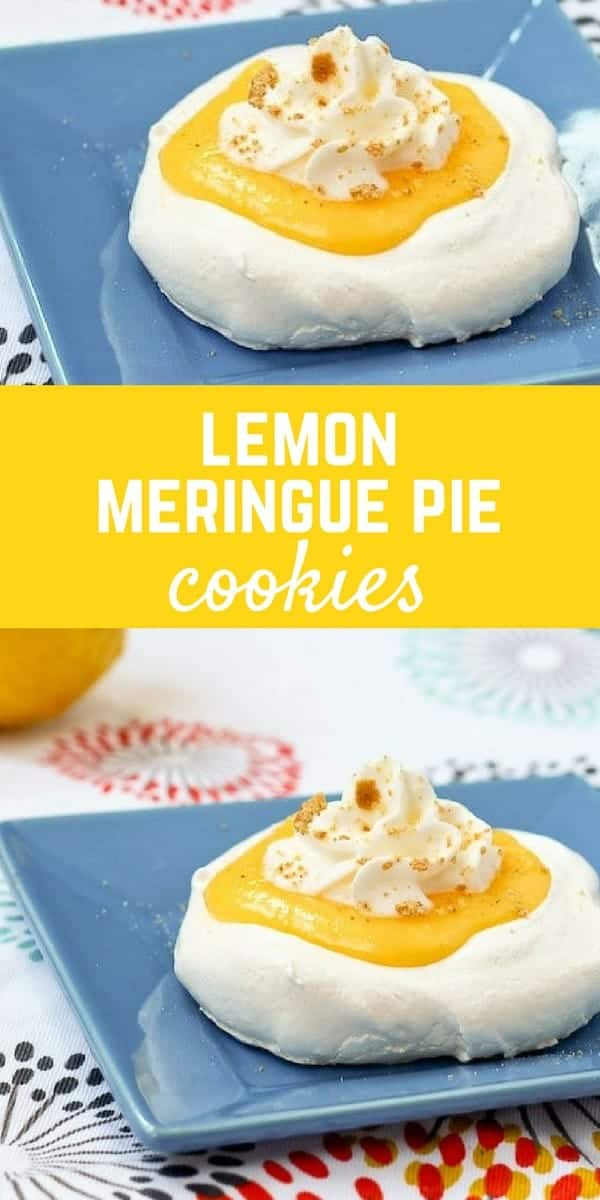 Lemon Meringue Pie can be tricky -- these Lemon Meringue Pie Cookies are the perfect solution. The recipe makes two - no need to worry about overindulging! Get the recipe on RachelCooks.com!