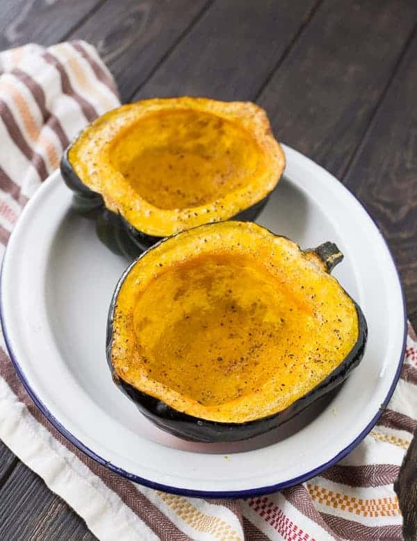 Learn how to cook acorn squash in two ways: Sweet and savory. Both are super easy and make for an fantastic side dish!Get the details on RachelCooks.com!