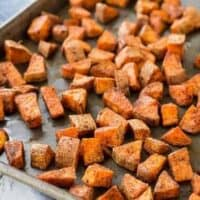 Oven Roasted Sweet Potatoes - Southwestern Style