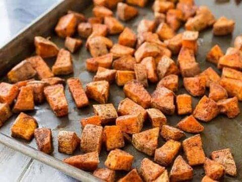 Oven Roasted Sweet Potatoes Southwestern Style Rachel Cooks