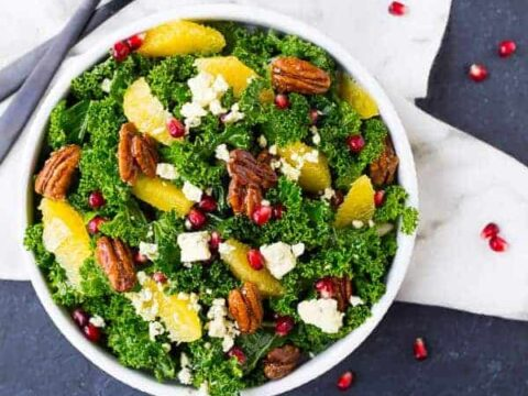 Christmas Salad Recipes.Christmas Salad Recipe With Pomegranate And Pecans