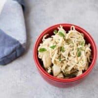 Instant Pot Shredded Chicken - 2 Ingredients, 4 Variations