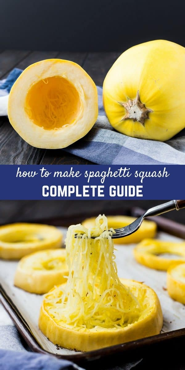how to cook spaghetti squash - 5 methods & complete guide